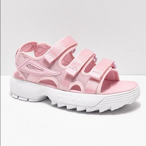 FILA disruptor sandals NWT